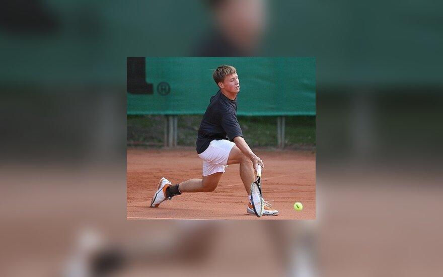 ATP reitinge R.Berankis prarado 32 pozicijas