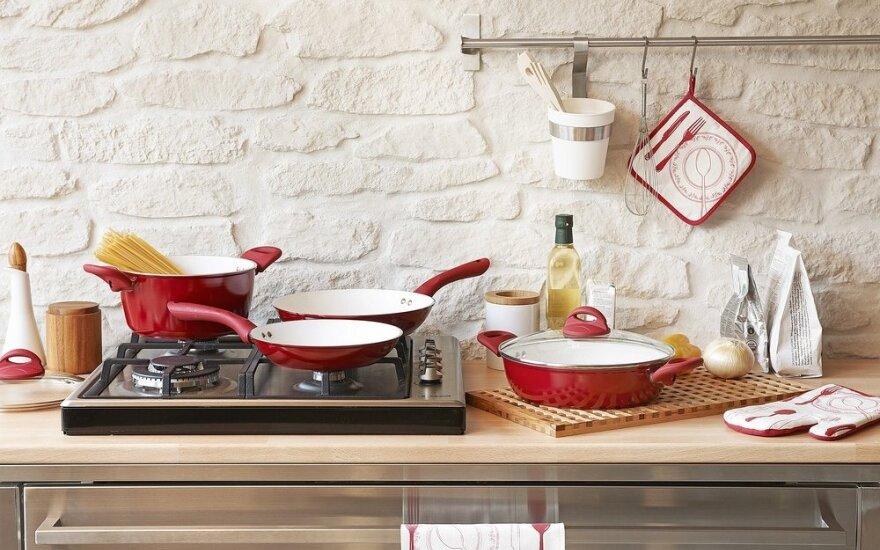 8 daiktai virtuvėje, kuriuos plaunate ir valote neteisingai