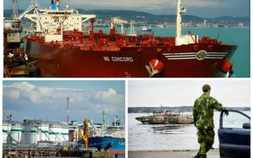 "Tanklaivis ""NS Concord"" Klaipėdoje praleido tris dienas (marinetraffic.com, scanpix, DELFI nuotr.)"