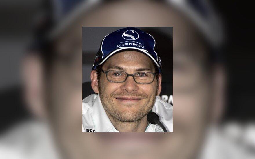 """Jacques Villeneuve (""""Sauber-Petronas"""")"""