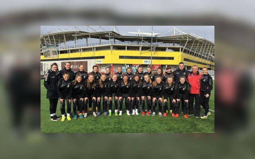 Lietuvos U17 merginų futbolo rinktinė