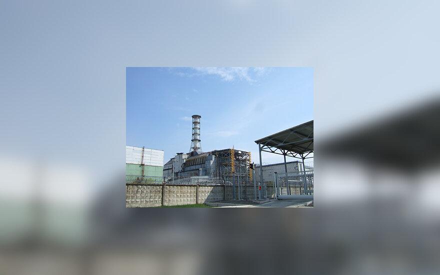 Černobylis, sarkofagas