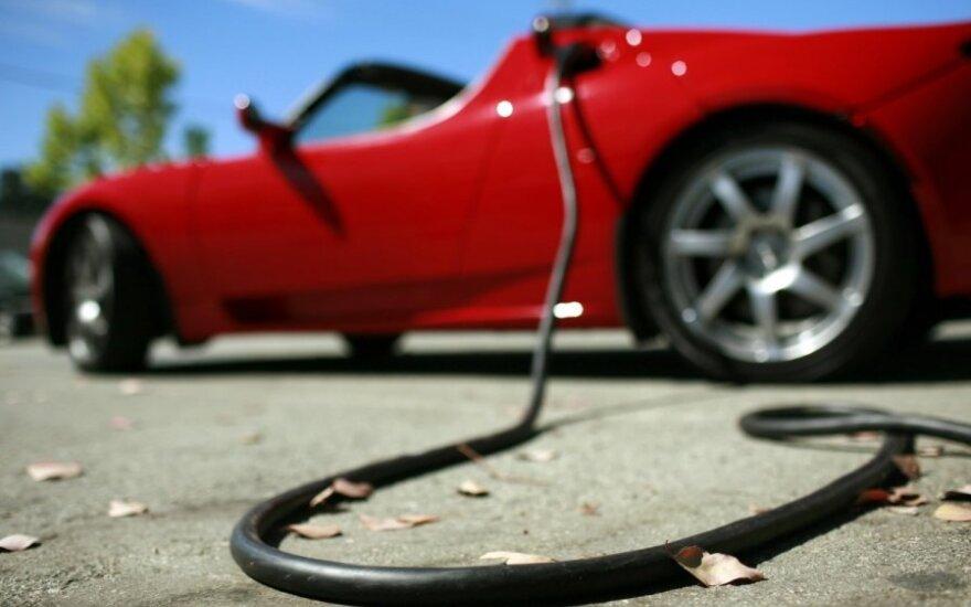 Kas lietuvius paskatintų pirkti karalių reklamuojamus elektromobilius?