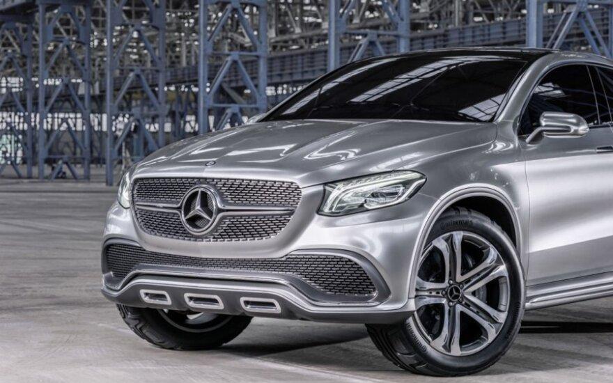 """""""Mercedes"""" rengia atsaką BMW X6"""