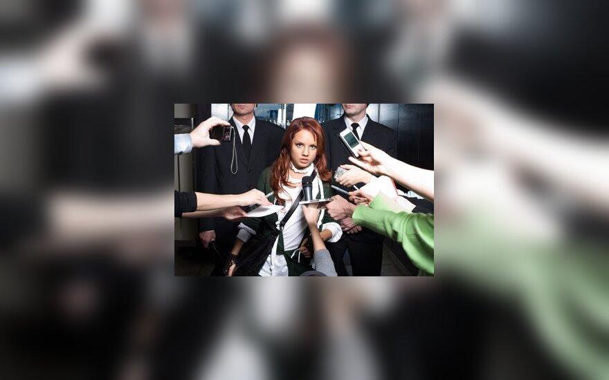 Rusų dainininkė Maksim susilaukė mergaitės