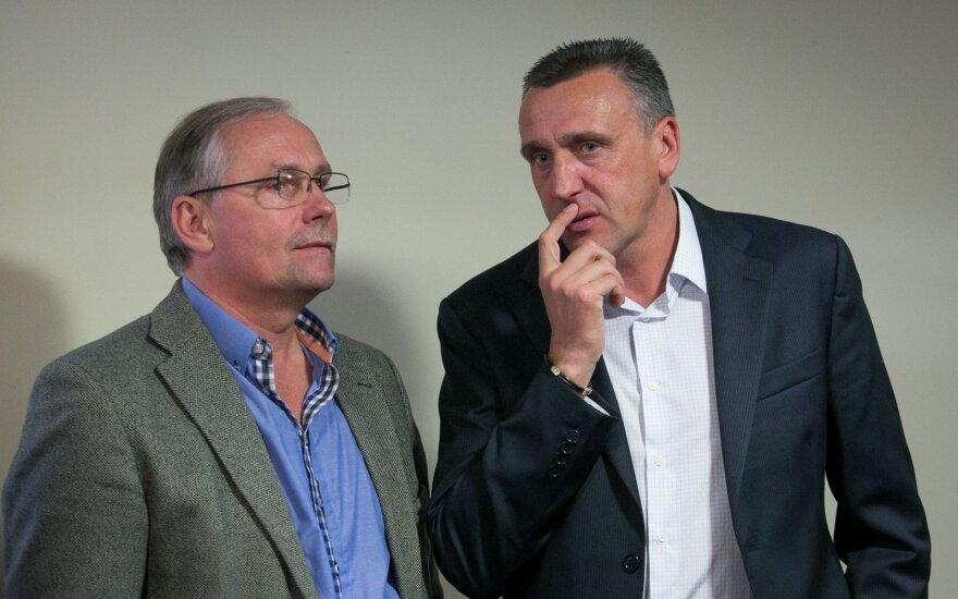 Stasys Danisevičius ir Valdas Ivanauskas