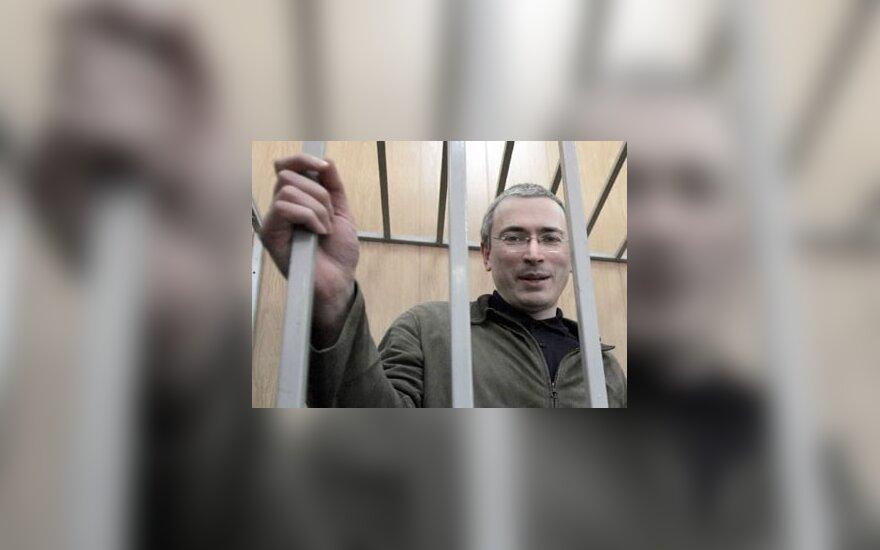 M.Chodorkovskis atmetė kaltinimus naujoje grobstymo byloje