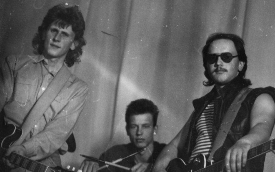 """Grupė """"Siela"""" 1990 metais"""