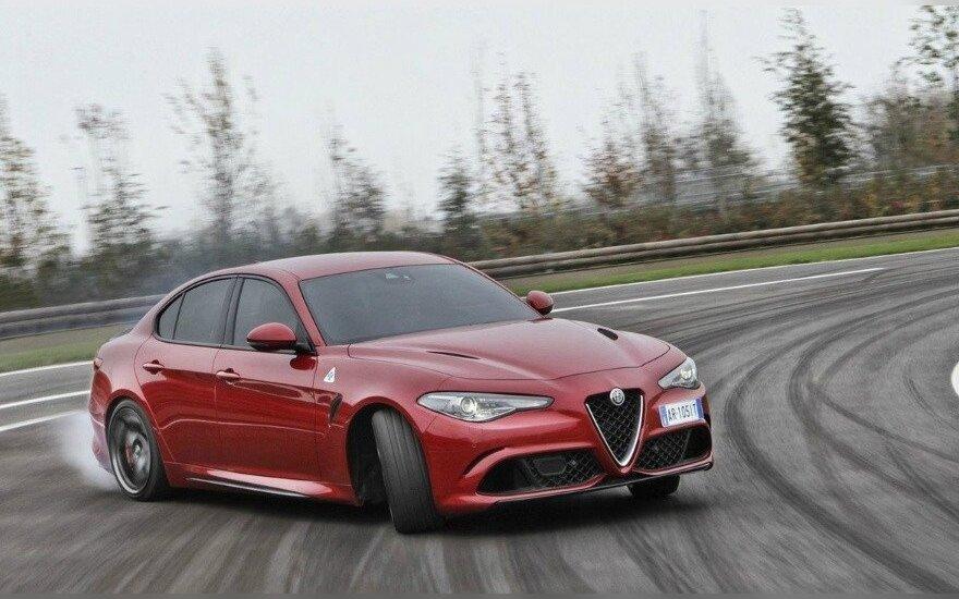 """Alfa Romeo Giulia Quadrifoglio Verde"""
