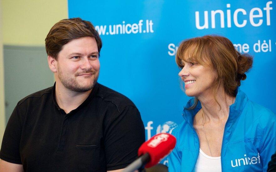 Merūnas Vitulskis ir Virginija Kochanskytė