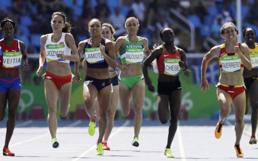 Eglė Balčiūnaitė in Rio