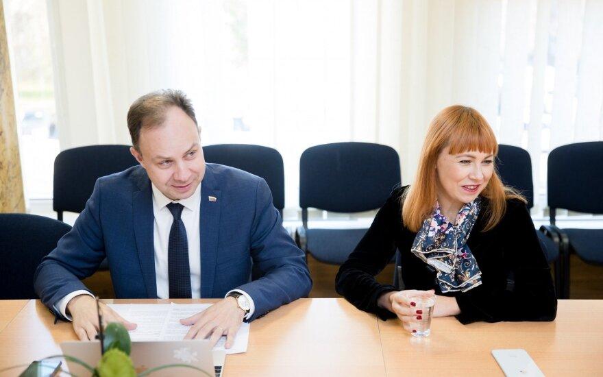 Aurelijus Veryga ir Jurgita Petrauskienė