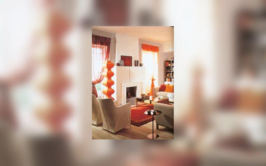 Oranžiniai akcentai
