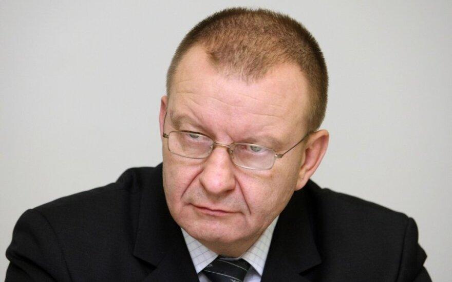 Kriminalinės policijos biuro viršininkas Algirdas Matonis
