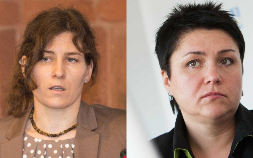 Margarita Smirnovienė ir Daina Gudzinevičiūtė