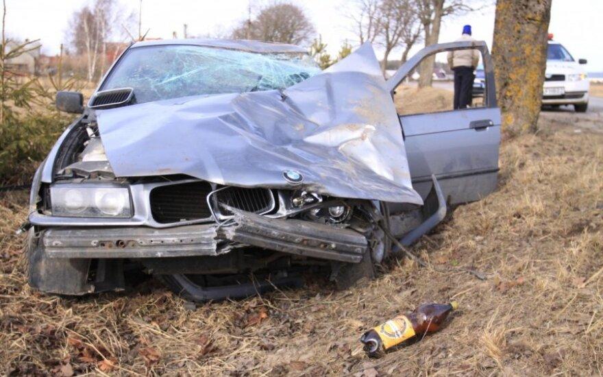 BMW avarija