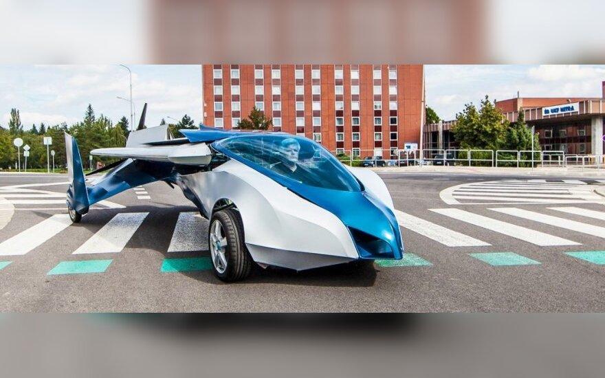 Skraidantis automobilis AeroMobil 3