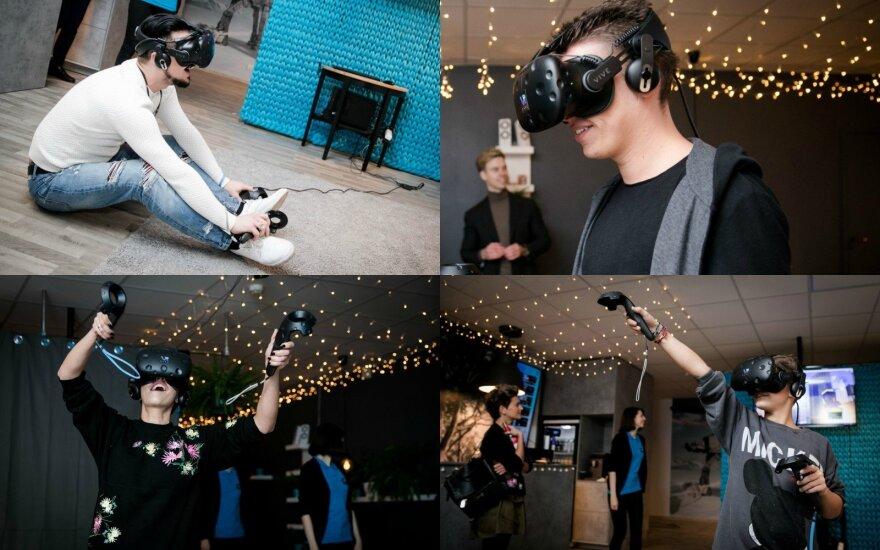 Garsenybės pasinėrė į virtualią realybę