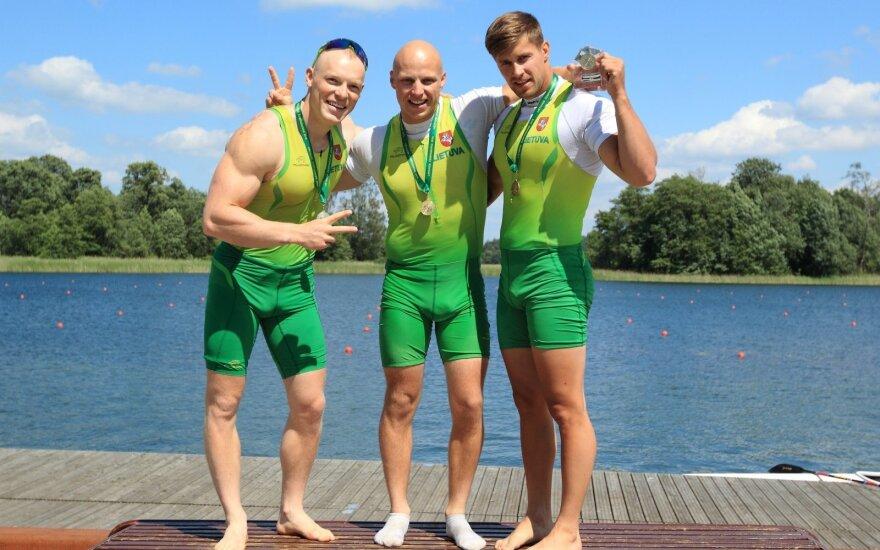 Lietuvos baidarininkai olimpiečiai