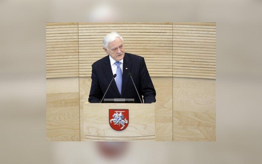 V.Adamkus: aukštojo mokslo reformos sėkmė priklausys nuo akademinės bendruomenės pastangų