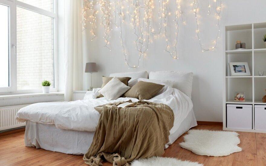 5 dalykai jūsų miegamajame, kurie neleidžia jums ramiai ilsėtis