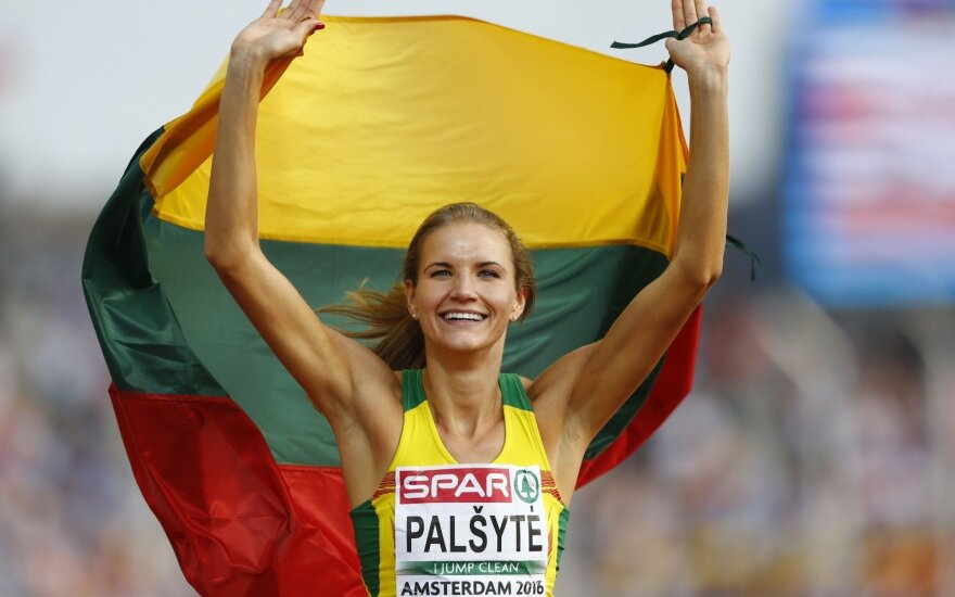 Silver medal for Airinė Palšytė in high jump at European championship