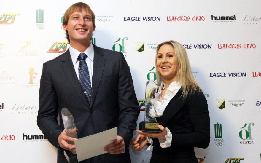 Mindaugas Griškonis ir Laura Asadauskaitė