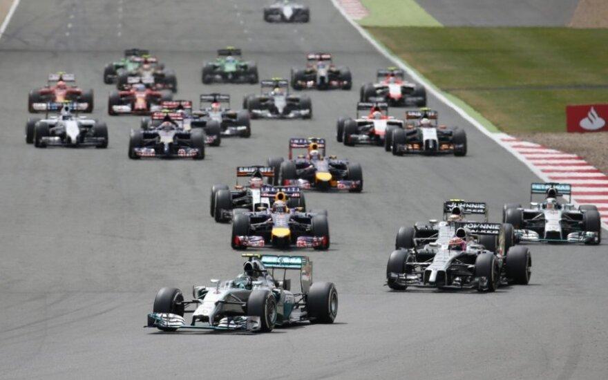 F-1 lenktynių Didžiosios Britanijos etapas