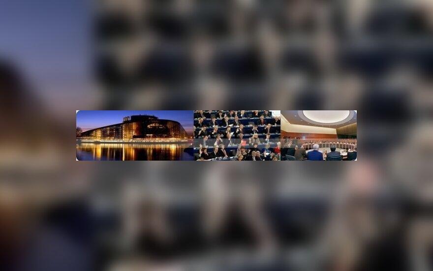 Skelbiamas rašinio apie Europos Parlamento veiklą konkursas