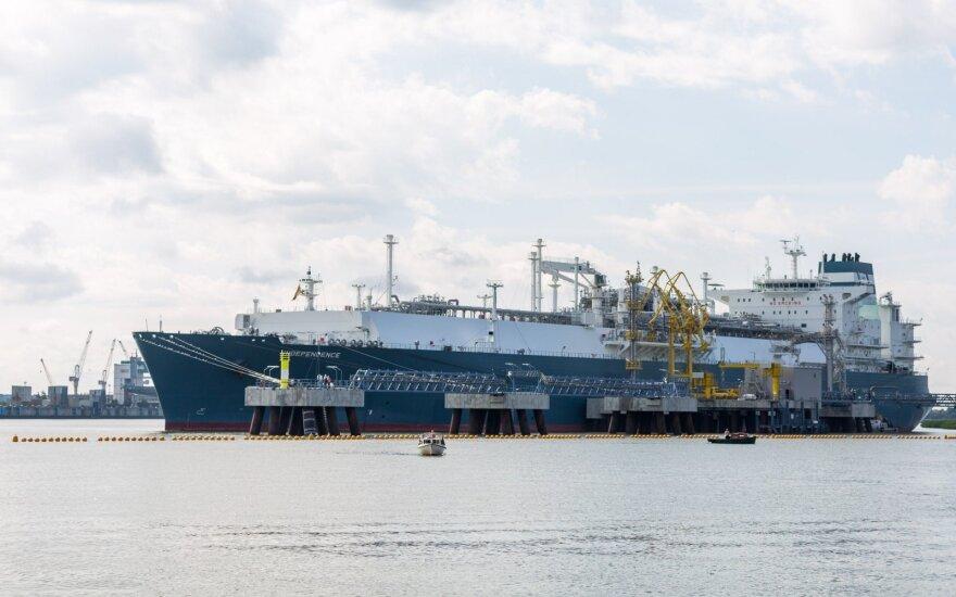 """""""Klaipėdos naftai"""" ministerija leido perkelti SGD terminalo veiklą į antrinę įmonę"""