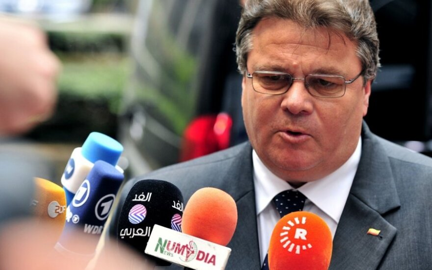 Lithuanian foreign minister calls for tougher, not softer sanctions on Russia
