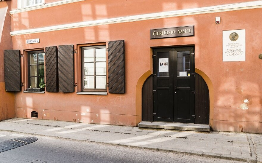 Ciurlionio Namai  (Ciurlionis House) on Savičiaus street 11 in Vilnius where Ciulionis lived during the winter of 1907  Photo © Ludo Segers @ The Lithuania Tribune (1)