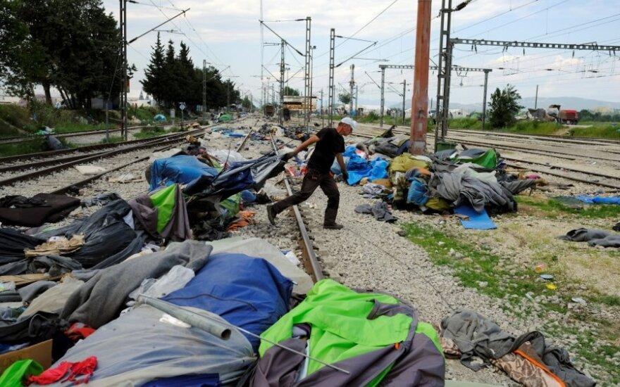 Į ES atvykstančių pabėgėlių mažėjo ir rugsėjį