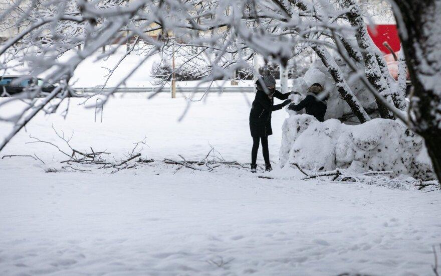 Orai: į Lietuvą grįžta balta žiema