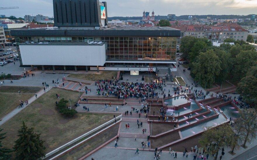 Fontano prie Operos ir baleto teatro atidarymas