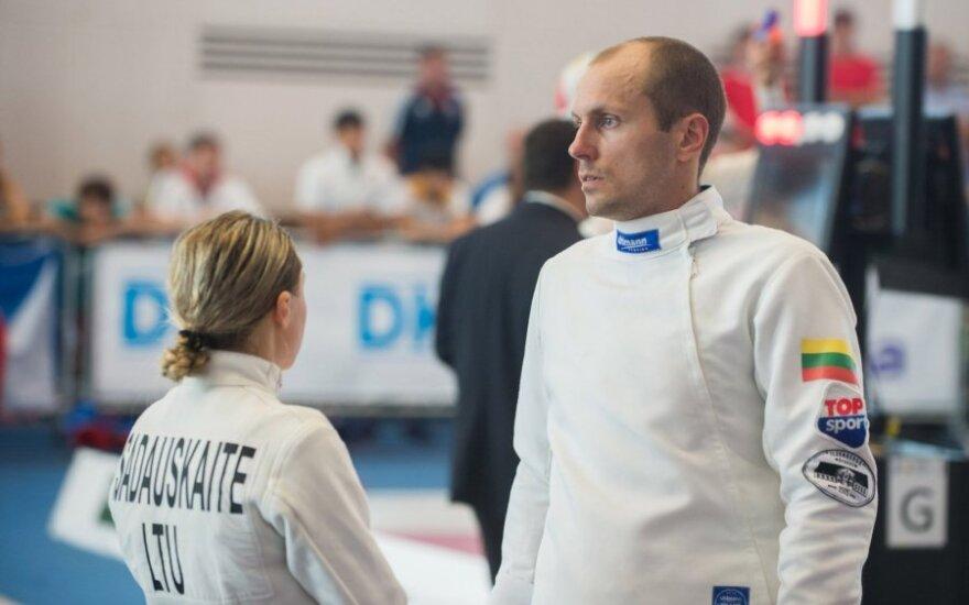 Laura Asadauskaitė-Zadneprovskienė ir Justinas Kinderis