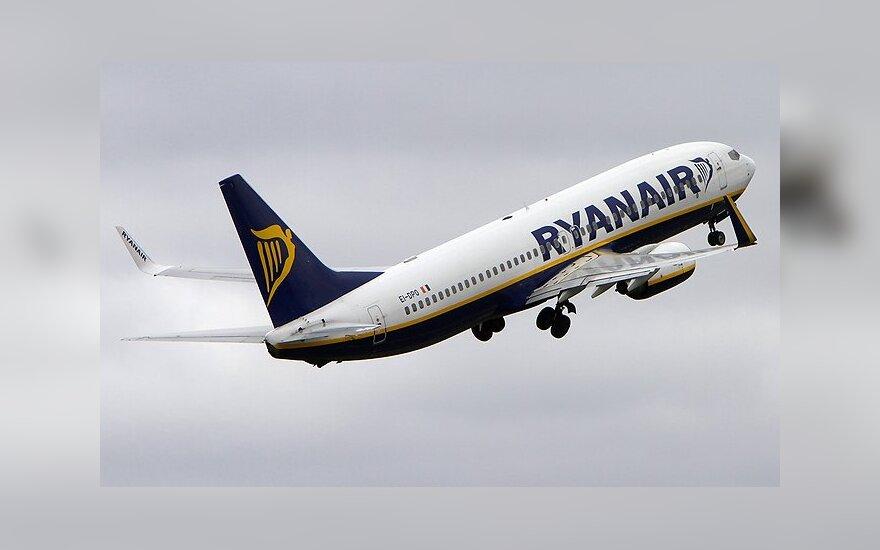 """""""Ryanair"""" iš Vilniaus į Barseloną skraidys dažniau"""