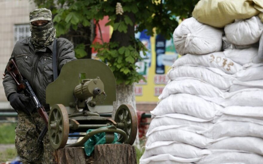 Ukrainiečių kariai pateko į pasalą, yra žuvusių