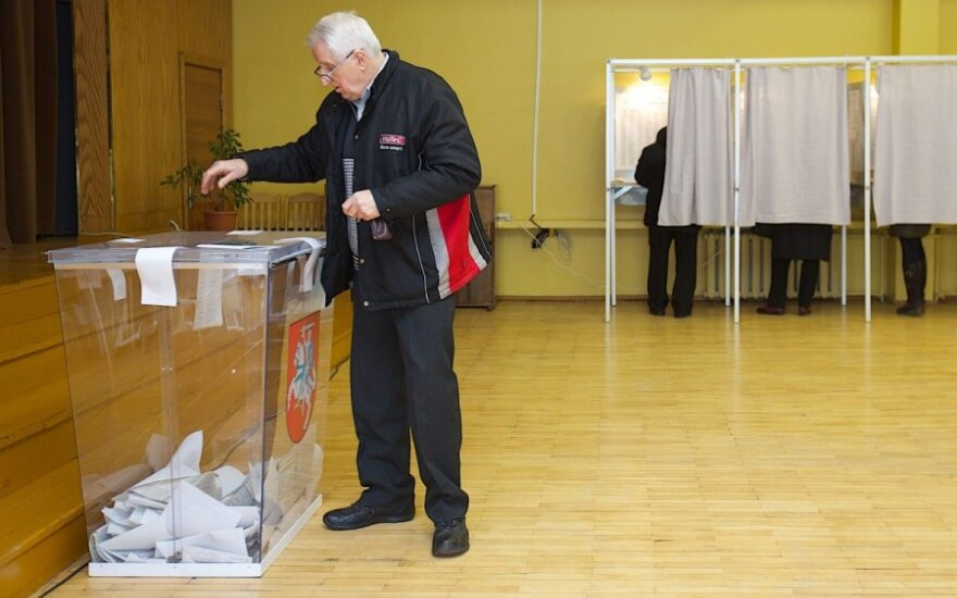 Social democrats lead in Lithuania's local elections