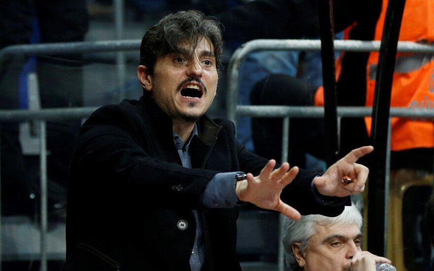 """Giannakopoulos šaiposi iš Eurolygos: esu tikras, kad """"Olympiakos"""" jūs nebausite"""