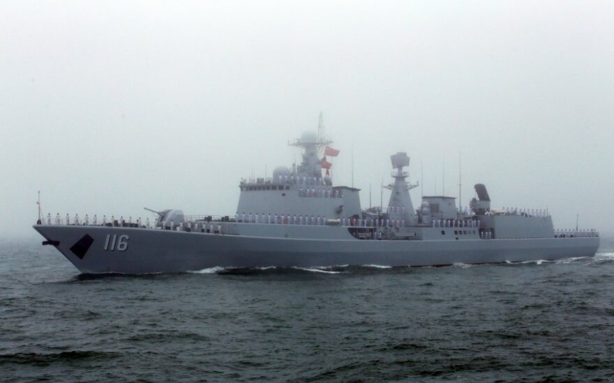 """Kinų eskadrinis minininkas """"Shijiazhuang"""""""