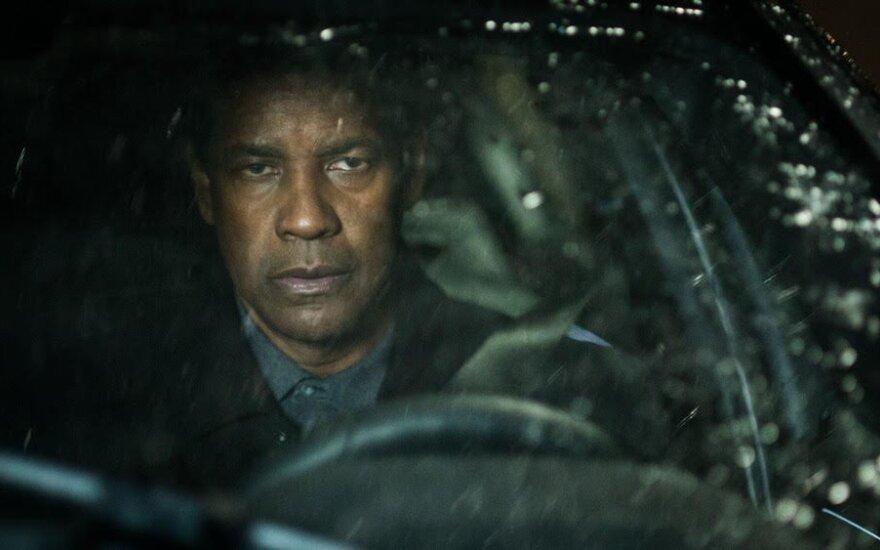"""Denzelis Washingtonas, kadras iš filmo """"Ekvalaizeris 2"""""""