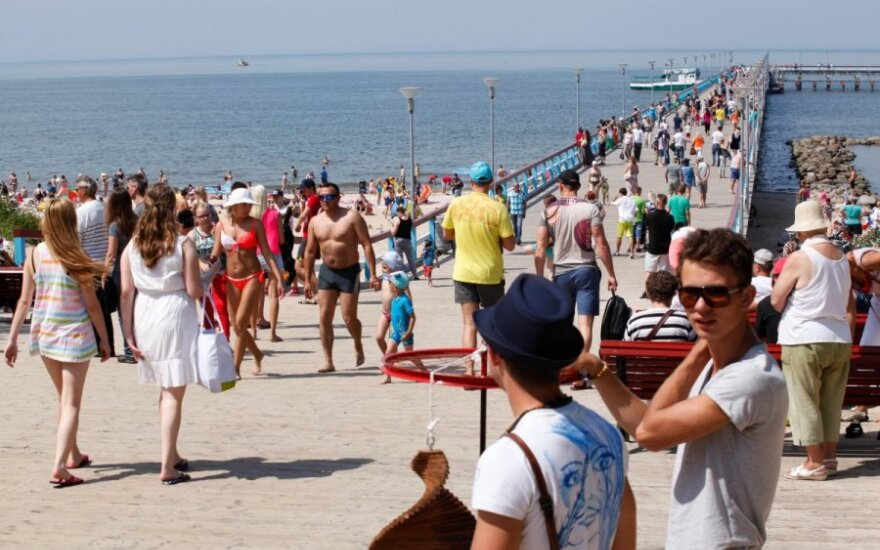 Belarusian tourists exchange Crimea for Lithuanian resorts