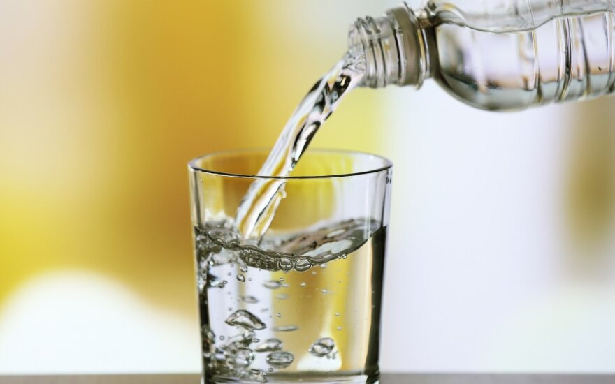 Stiklinė vandens