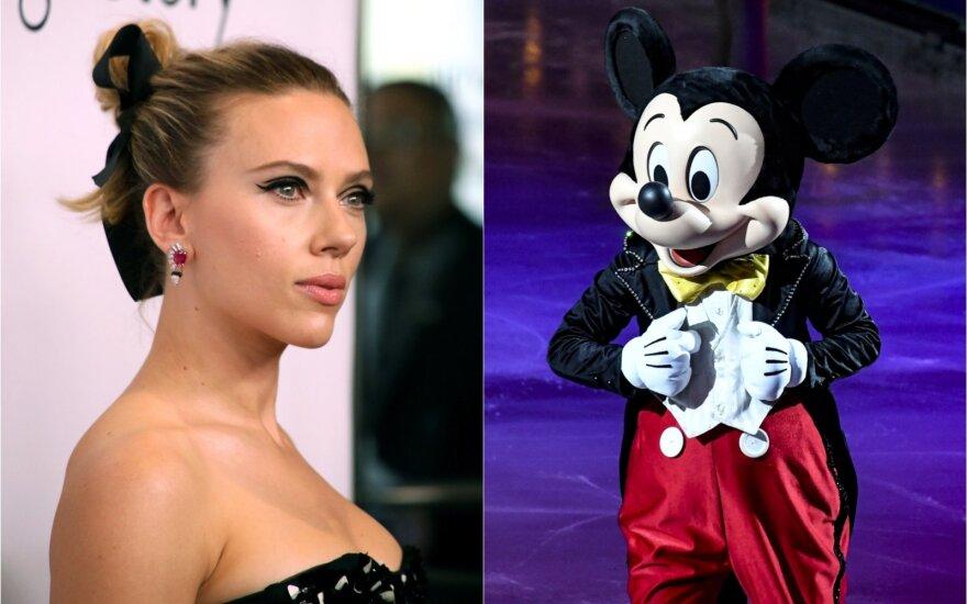 Scarlett Johansson / peliukas Mikas