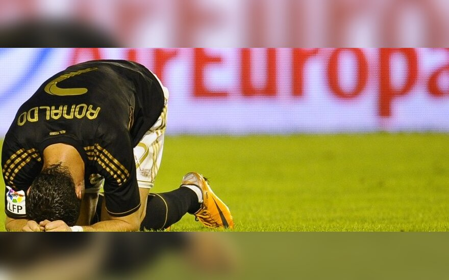 Cristiano Ronaldo po neišnaudotos progos