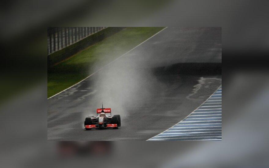 """""""McLaren"""" progresuoja Chereze"""