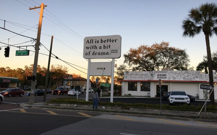 Sizzling reviews as Lithuania's Drama Burger launches in Tampa
