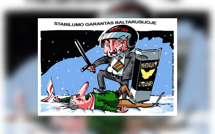 JAV: Baltarusijos prezidento rinkimų rezultatai nėra legitimūs