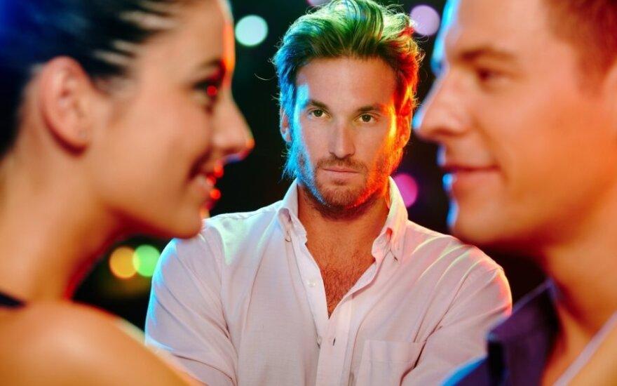 Ar vyrai jaučia, kad noriu būti neištikima?
